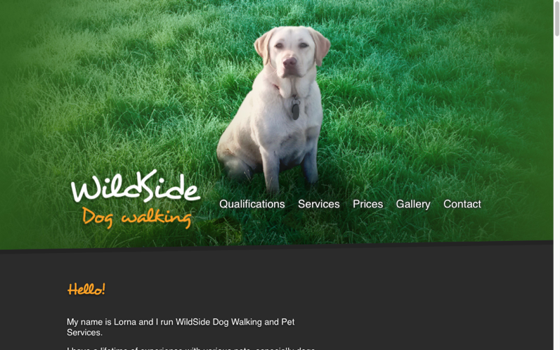Thumbnail of WildSide Dog Walking on desktop