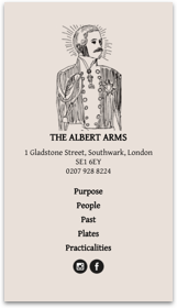 Thumbnail of The Albert Arms on mobile